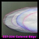 227-234 White Colored Edge