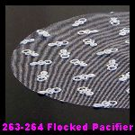 263-264 Flocked Pacifier