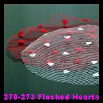 270-273 Flocked Hearts
