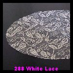 288 White Lace