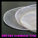 289-293 Iridescent & Metallic Trim